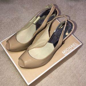 Michael Kors Nude heels